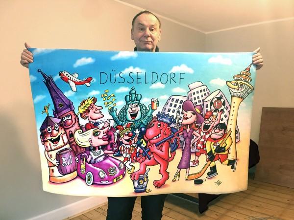 Jacques Tilly Bodenteppich Düsseldorf