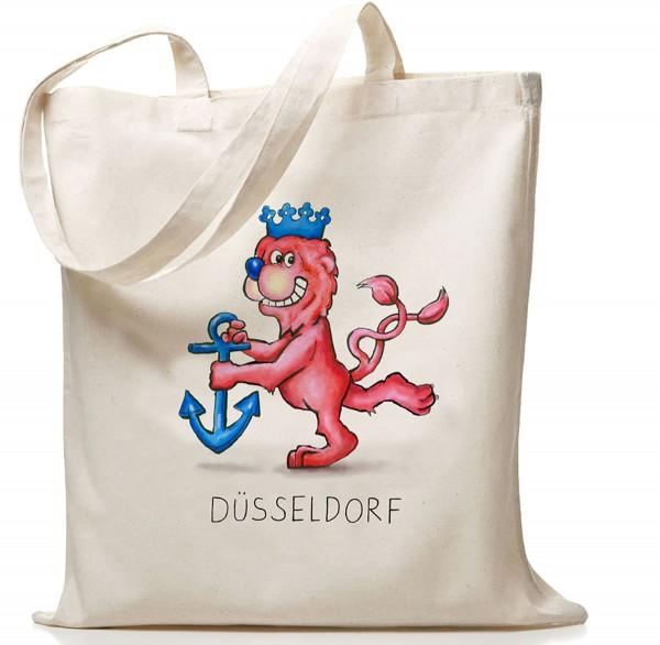 Jacques Tilly Baumwollbeutel Düsseldorfer Wappenlöwe