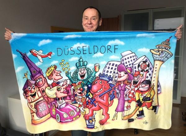 Jacques Tilly Kuscheldecke Düsseldorf