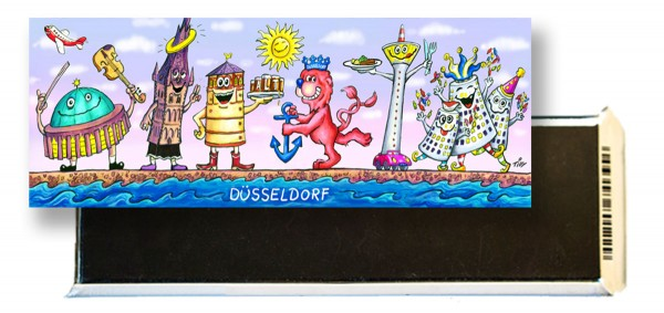 Jacques Tilly Panoramamagnet Düsseldorf am Rhein