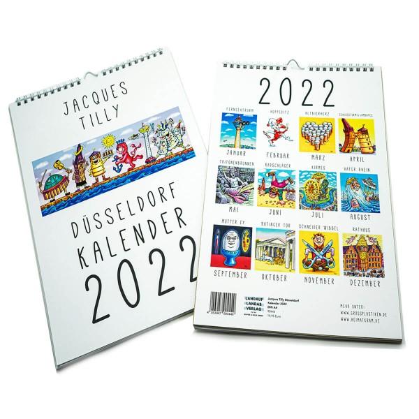 Jacques Tilly Düsseldorf Kalender 2022