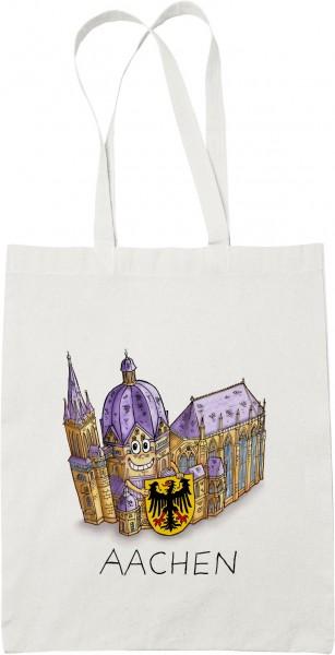 Jacques Tilly - Baumwolltasche mit dem Aachener Dom