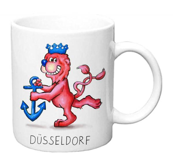 Jacques Tilly Tasse Düsseldorfer Wappenlöwe