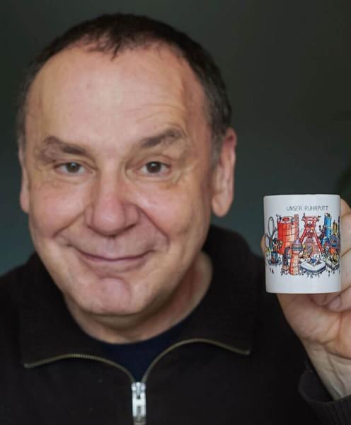 Jacques Tilly Espressotasse Unser Ruhrpott